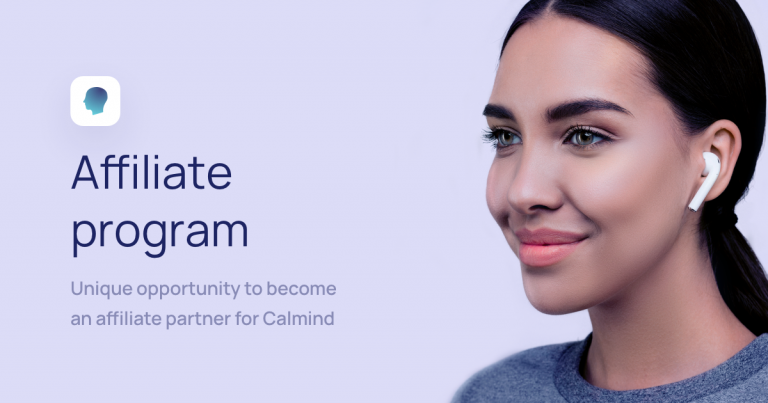 Affiliate program with Calmind